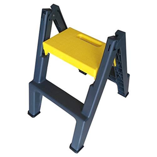 FJIE 2 Step Stool, Bariatric Footstool Riser Für Erwachsene Und Kinder - Leichte Trittleiter Für Kinder, Für Küche, Schlafzimmer, Badezimmer (Color : A) -