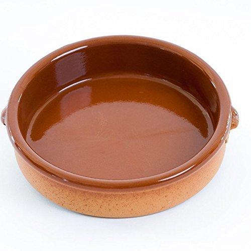 Plat en terre cuite rustic Cassole Diam. 25 cm – Haut. 6,5 cm – 5 à 6 pers.