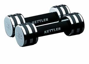 Kettler Set de 2 haltères 1 kg