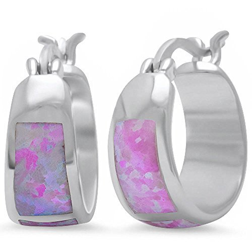 lab-created-pink-fire-opal-hoop-925-sterling-silver-earrings-by-oxford-diamond-co
