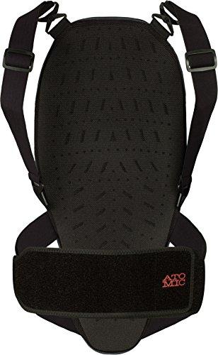 Atomic, Damen Ski-Rückenprotektor, Verstellbar, Weich und atmungsaktiv, Ridgeline, Größe S, Grau, AN5205010S -