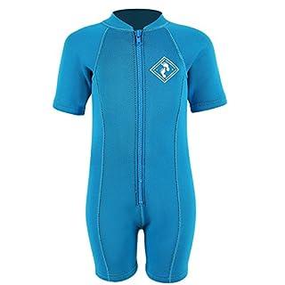 Aquatica Baby Toddler Wetsuit First Wetsuit Full Neoprene (L, Aqua)