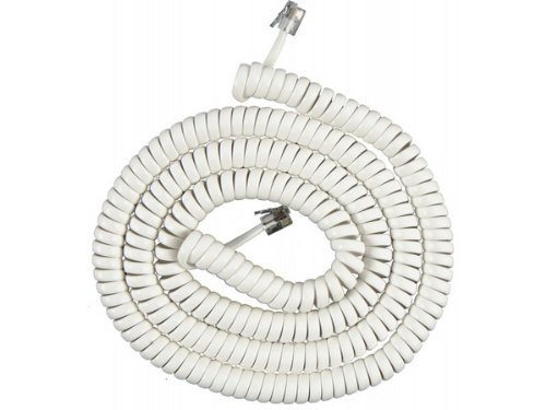 GE 76122 Coil Cord (25 Feet, White) by GE Ge 25 Coil