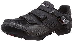 Shimano Sh-m163, Men Mountain Biking Shoes, Black (Black), 9 Uk (44 Eu)