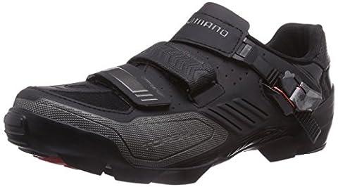 Shimano Sh-M163, Men Mountain Biking Shoes, Black (Black), 10.5 UK (46 EU)