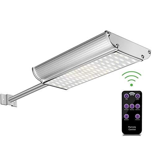 Sararoom Lámparas Exterior Solares,70w 3 modos Pared Lámparas Solares Farolas, IP65 con Control Remoto para Jardin, Patio,Farola, Caminos,Porche