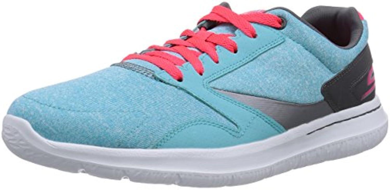Skechers Go Walk City Uptown - zapatilla deportiva de material sintético mujer