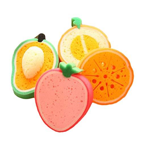 HEALIFTY Baño frutas Baño esponja Cepillos Esponjas