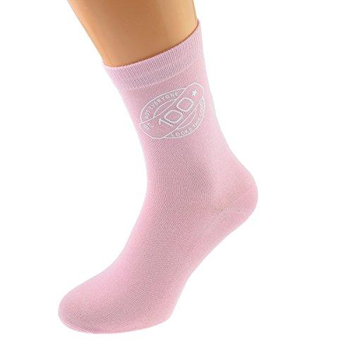 GTR-Prestige Giftware Not Everyone Looks This Good At 100 Ladies Pink Socks 100th Birthday UK 4-8 EUR 37-41 - X6N754-100