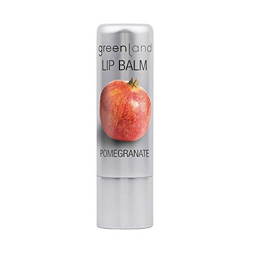 Lip Treatment Balm (Greenland Lippenpflege Granatapfel | Natürliches Lippenbalsam Ohne Tierversuche | Verwöhnender Lip Balm für optimale Lippen Feuchtigkeit)