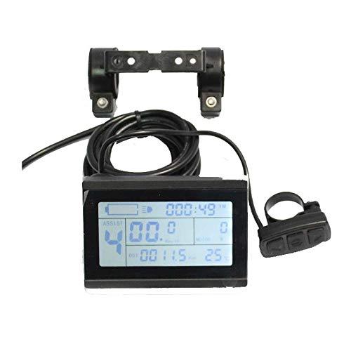 24V 36V 48V ebike intelligent LCD Control Panel LCD Display for our 24V 36V 48V Controller by HalloMotor - Intelligentes Lcd