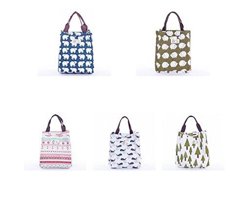 Kotiger portabilità tela del fumetto della borsa borsa all' aperto viaggio picnic Storage Bag Style 4 Style 4