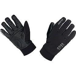 Gore BIKE Wear Guantes Térmicos de Hombre para ciclismo, TEX, UNIVERSAL Thermo Gloves, Talla 8, Negro, GCOUNW990006