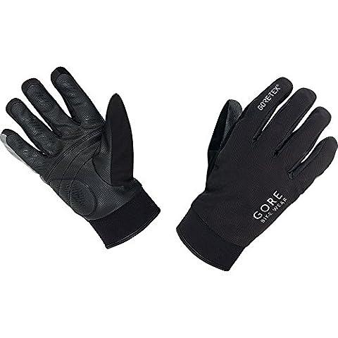 GORE BIKE Wear Herren Thermo-Regen-Fahrradhandschuhe, GORE-TEX, UNIVERSAL Thermo Gloves, Größe 8, Schwarz, GCOUNW