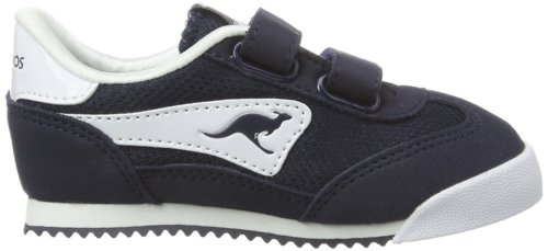 KangaROOS, Baby Jungen Lauflernschuhe Blau (dark navy/white 460)