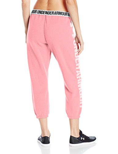 Under Armour Favorite Fleece Capri-Kno//Wht Corsaire Femme Knock Out