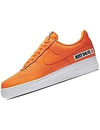 online store d9975 712fa Nike Herren Air Force 1 07 Lv8 JDI Sneakers, Mehrfarbig Total OrangeWhite