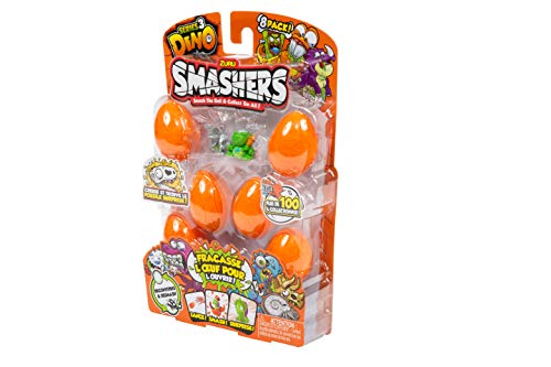 Smashers Series 3 Dino 8 Figure Pack