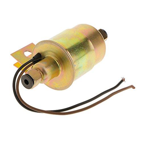 Baoblaze 12V Kraftstoffpumpe Benzin Diesel Elektrische Baumaschine Elektro Pumpe Kit Für meisten Autos, Lkw (Vergaser Eingebautet) (Vergaser Kraftstoffpumpe Pumpe Elektrische)