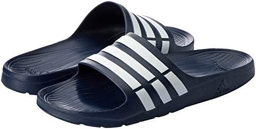 size 40 788a4 a0744 Adidas Duramo Slide, Ciabatte da Unisex Adulto, (Blue, BlueWhite), 47 EU