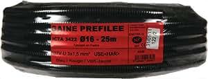 Janoplast JAN004348 Gaine préfilée 25 m Diamètre 16 mm 3 g 1,5 mm