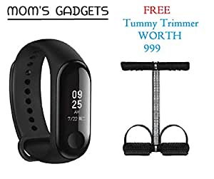 MOM'S GADGETS Intelligence Bluetooth Health Wrist Smart Band Watch Monitor/Smart Bracelet/Health Bracelet/Smart Watch for Mens/Activity Tracke/Bracelet Watch for Men/Smart Fitness Band