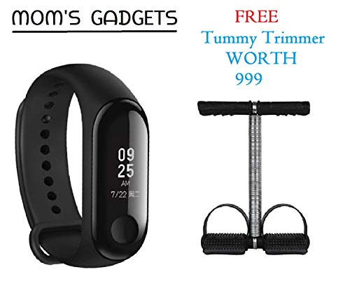 MOM'S GADGETS Intelligence Bluetooth Health Wrist Smart Band Watch Monitor/Smart Bracelet/Health Bracelet/Smart...