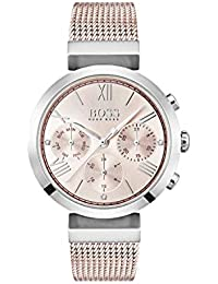 611f7c8b Hugo BOSS Womens Analogue Classic Quartz Watch with Stainless Steel Strap  1502426