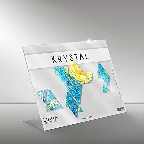 Portadocumenti in plexiglass krystal a4 21x29,7 cm orizzontale