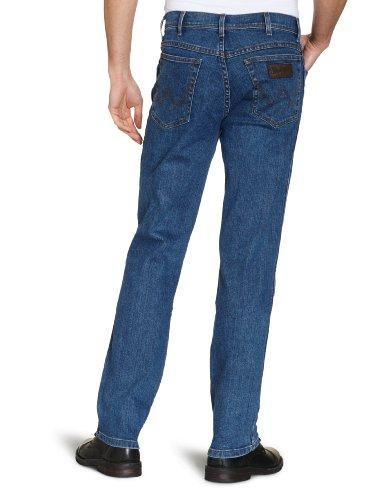 Wrangler - Texas Stretch - Jeans- Homme Bleu (DARKSTONE)