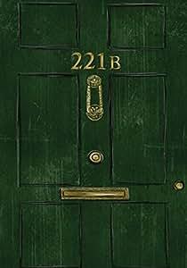221B Baker Street Plaque murale en métal–20x 20x 14cm–3004