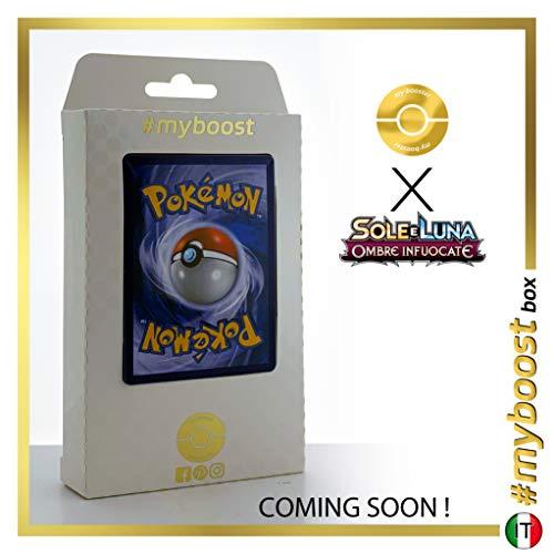 Turtonator 26/147 Holo Reverse - #myboost X Sole E Luna 3 Ombre Infuocate - Box de 10 cartas Pokémon Italiano