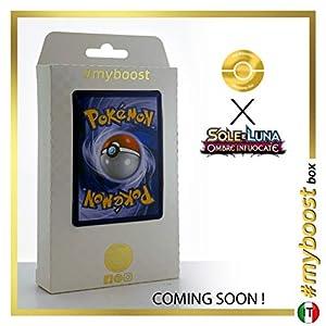 Rhyperior 67/147 Holo Reverse - #myboost X Sole E Luna 3 Ombre Infuocate - Box de 10 cartas Pokémon Italiano