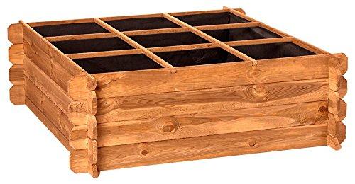 Catral 31090013 - Huerto urbano Seed Planter 120, 40 x 120 x 120 cm, madera de pino