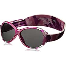 Banz 01588 Sonnenbrille Kidz mit elastischem Neoprenband, für Kopfumfang 50-60 cm (circa bis 2-5 jahre), UV400, braun