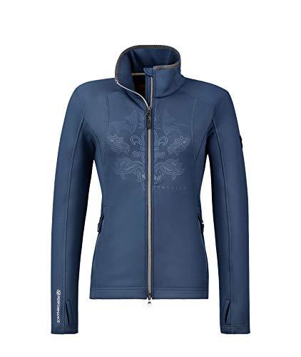 Cavallo Damen Funktions- Shirt -Jacke Hila Teal, Größe:42