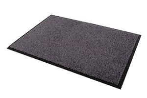 Mercury Flooring - Tapis Wash & Clean 40X60 - Couleur : Gris