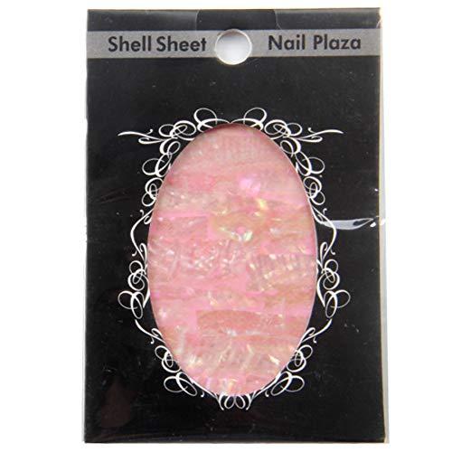 DRTYLO Nagelauf Kleber 1Pcs / Lot Populäre Weiche, Natürlicher See Abalone Muscheln Shell Aufkleber Zubehör Werkzeuge Dekorationen Kunst