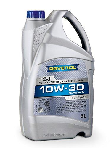 RAVENOL TSJ SAE 10W-30 Teilsynth Motorenöl, 5 Liter