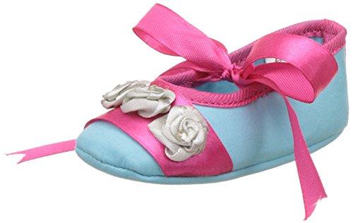 Barbie Baby Girl's Sky Blue Booties - (9-12 months)
