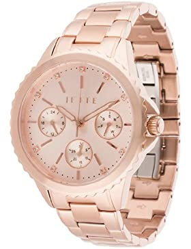 JETTE Time Damen-Armbanduhr Prime time Analog Quarz One Size, roségold, roségold