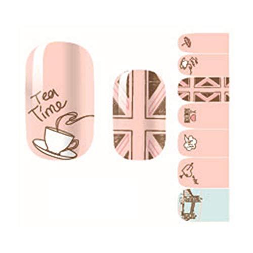 ValianhAgen Ultradünne Nail Wrap Sticker Kleber Nagellack Kunst Aufkleber Fingernagel Dekoration multi