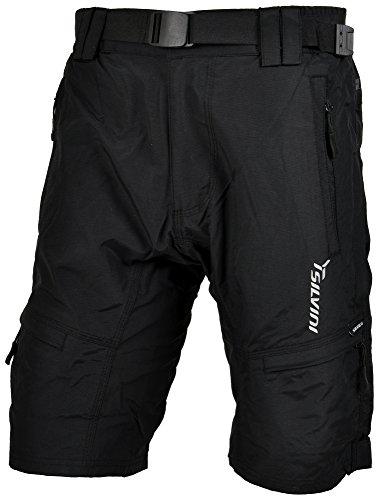 SILVINI Herren Mtb Hose Rango, Black, 3XL, 3116-MP857-08007 Xxxl Mountain Bike Shorts