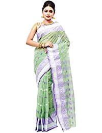 Slice Of Bengal Light Weight Broad Border Cotton Handloom Taant Tangail Saree101001000975