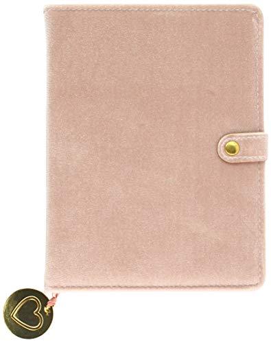 Snap Journal: Velvet Finish - Hardcover-Notizbuch/Tagebuch/Memo mit stabiler Ringbindung und Druckknopf: Unser langlebiges Notizbuch als ständiger Begleiter