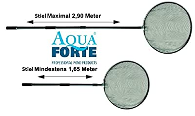 Koi-Kescher 60,80 100cm mit 2,9m Teleskopstiel von Aquaforte