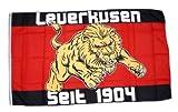 Fahne / Flagge Fussball Leverkusen