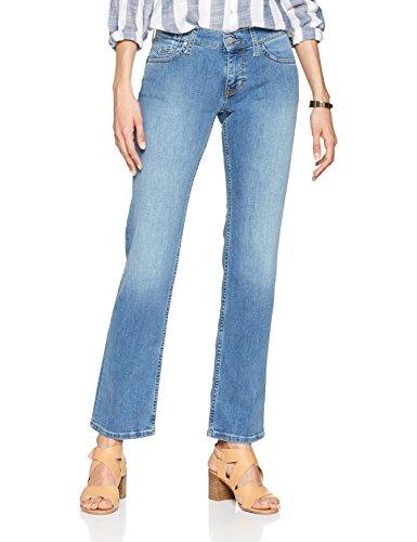 Mustang Damen Straight Jeans Girls Oregon, Blau (Medium Bleach 5000-311), 40 (Herstellergr Preisvergleich