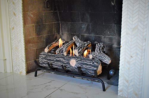 Terra Kamineinsatz Kamineinsatz Flame 61 cm braun