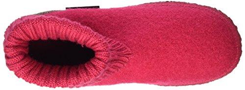 Giesswein Kramsach, Chaussons Femme Rouge Bottines (rubin)